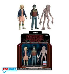 Stranger Things - 3pack Eleven,Will & Demogorgon NYCC 2017 Convention Exclusives