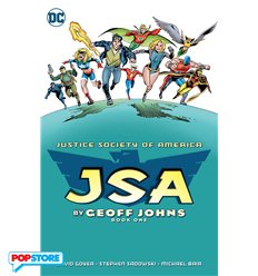 JSA by Geoff Johns Tp 001