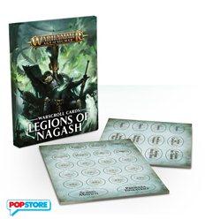 Carte delle Warscrolls Legions of Nagash