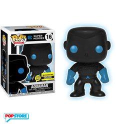 Funko Pop! - Dc Justice League - Aquaman (GLOW In The Dark) Exclusive