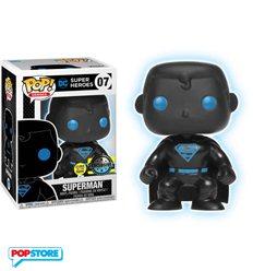 Funko Pop! - Dc Justice League - Superman Silhouette Gitd