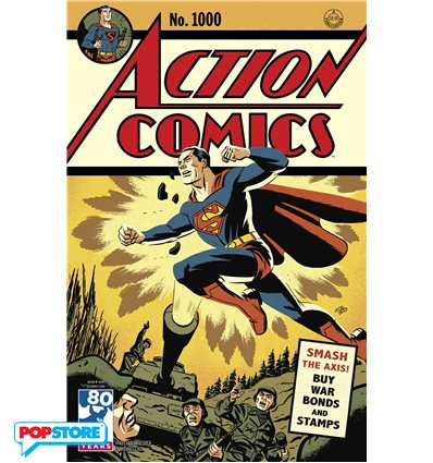 Action Comics 1000 1940s Variant Edition
