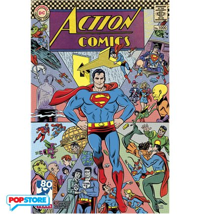 Action Comics 1000 1960s Variant Edition