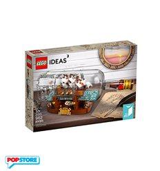 LEGO 21313 - Lego Ideas Nave in bottiglia