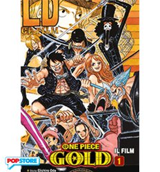 One Piece Gold Anime Comics 001