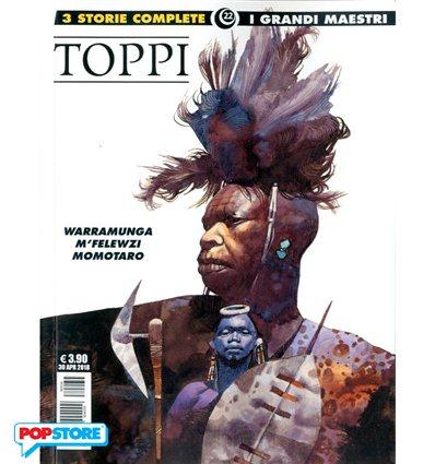 Sergio Toppi - Warramunga, M'Felewzi, Momotaro