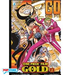 One Piece Gold Anime Comics 002