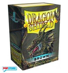 100 Bustine Dragon Shield - Brown