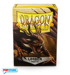 100 Bustine Dragon Shield - Matte Umber