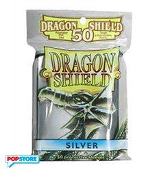 50 Bustine Dragon Shield Mini - Argento