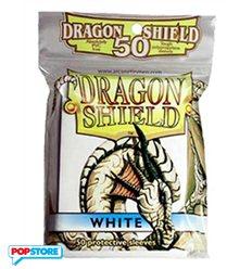 50 Bustine Dragon Shield Mini - Bianco