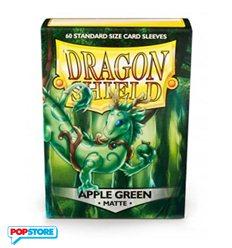 60 Bustine Dragon Shield - Matte Apple Green