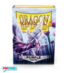 60 Bustine Dragon Shield - Matte Purple