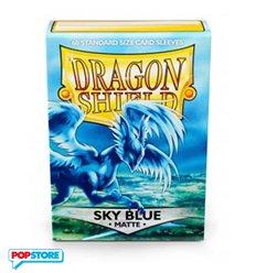 60 Bustine Dragon Shield - Matte Sky Blue