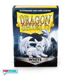 60 Bustine Dragon Shield - Matte White