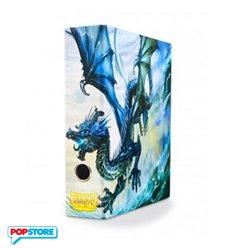 Raccoglitore Ad Anelli Con Cofanetto - Blue Art Dragon
