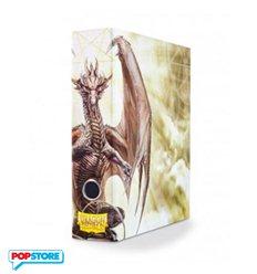 Raccoglitore Ad Anelli Con Cofanetto - White Art Dragon