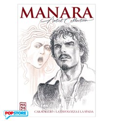 Manara Artist Collection 001 - Caravaggio, la Tavolozza e la Spada