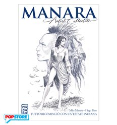 Manara Artist Collection 002 - Tutto Rincominciò con un'Estate Indiana