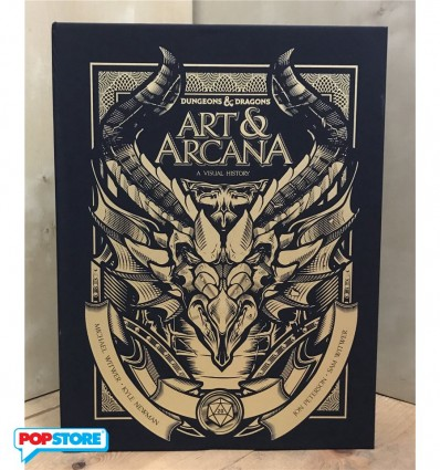 7fcac62f3 Dungeons & Dragons Art & Arcana: A Visual History Special Edition Boxed Book