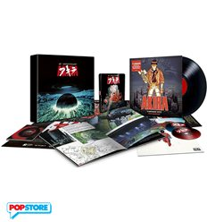 Akira 30th Anniversary Edition Limited Box-Set (Blu-Ray, Dvd, LP, Booklet)
