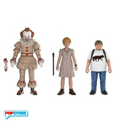 Funko Action Figures - It - 3pack Pennywise, Ben, Beverly