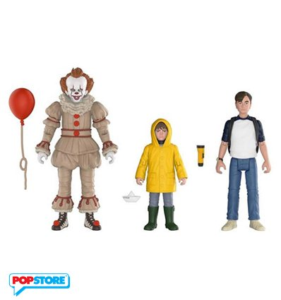 Funko Action Figures - It - 3pack Pennywise, Bill, Georgie