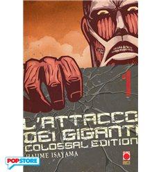 L'Attacco Dei Giganti Colossal Edition 001