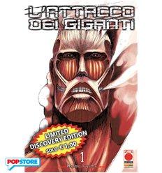 L'Attacco Dei Giganti 001 Discovery Edition