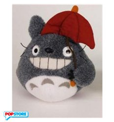 Studio Ghibli Totoro Red Umbrella Plush