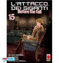 L'Attacco Dei Giganti Before The Fall Manga 015