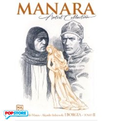 Manara Artist Collection 015 - I Borgia Tomo II