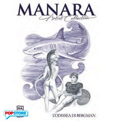 Manara Artist Collection 018 - L'odissea Di Bergman