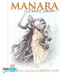 Manara Artist Collection 020 - I Borgia Tomo III