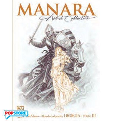 Manara Artist Collection 020 - I Borgia Tomo III