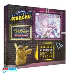 Pokemon Detective Pikachu - Fascicolo Mewtwo-Gx