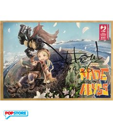 Made in Abyss Pack 1-7 Con Poster Autografato