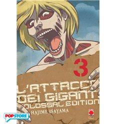 L'Attacco Dei Giganti Colossal Edition 003