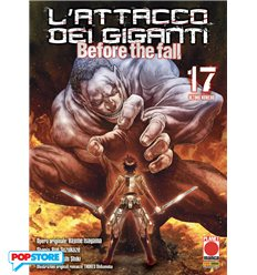 L'Attacco Dei Giganti Before The Fall Manga 017