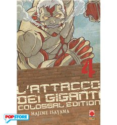L'Attacco Dei Giganti Colossal Edition 004