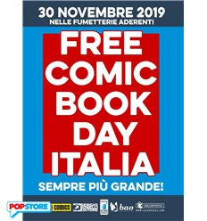 Free Comic Book Day 2019 PACK COMPLETO (con contributo spese)