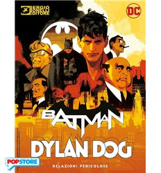 Batman Dylan Dog 0 - Relazioni Pericolose Heroes Cover