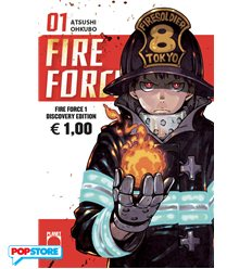 Fire Force 001 Discovery Edition
