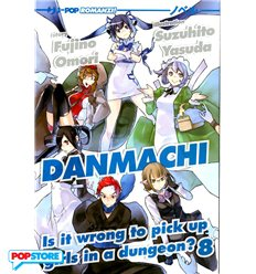 Danmachi Light Novel 008