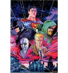 Superman l'Ascesa di Leviathan 001 Variant Museum