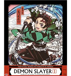 Demon Slayer Box 1 (1-13) (3 Blu-Ray) (Edizione Limitata E Numerata)
