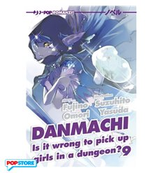 Danmachi Light Novel 009