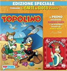 Topolino 3377 con le carte di Topolino con dorso rosso