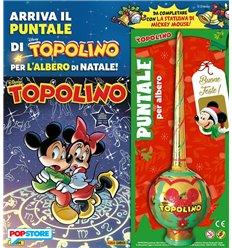 Topolino 3394 con Puntale per l'Albero di Natale