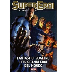 Supereroi Le Leggende Marvel 019 - Fantastici 4 - I Piu' Grandi Eroi Del Mondo